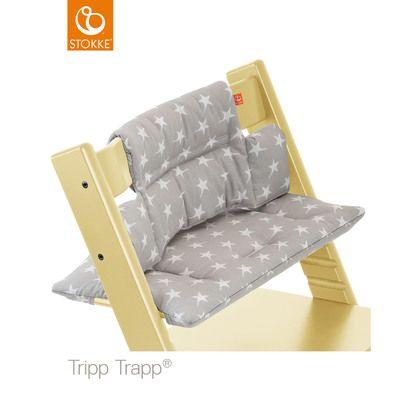 Coussin de chaise Tripp Trapp® Etoiles Grises de Stokke®