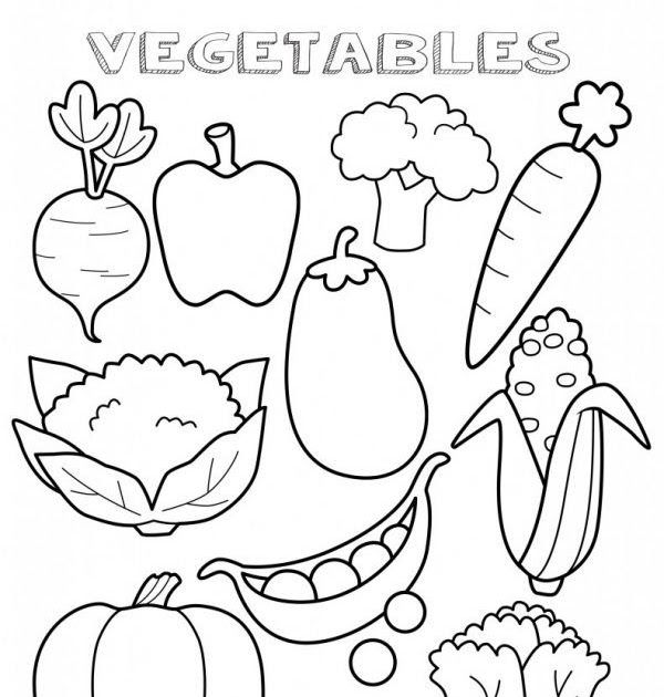 27 Inspiration Picture Of Cute Food Coloring Pages Albanysinsanity Com Vegetable Coloring Pages Fruit Coloring Pages Food Coloring Pages