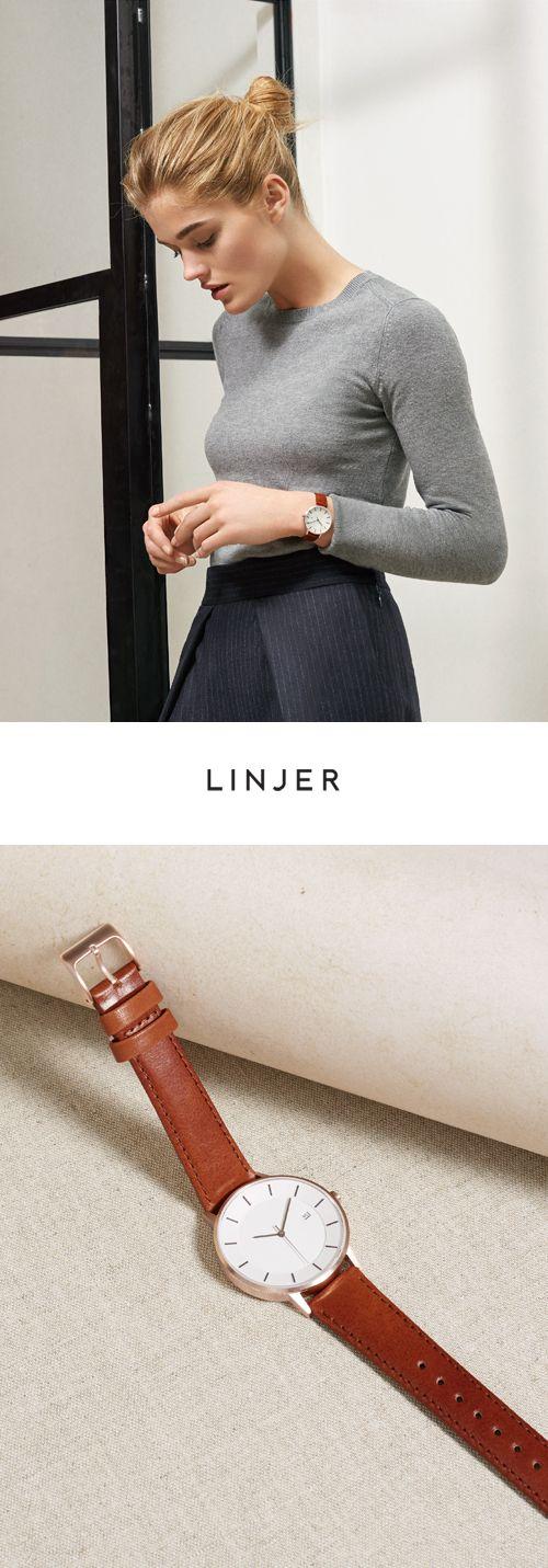 Elegant quartz timepieces with vegetable-tanned Italian leather