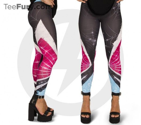 Spider-Gwen Would Look Pretty Great In These Leggings ...