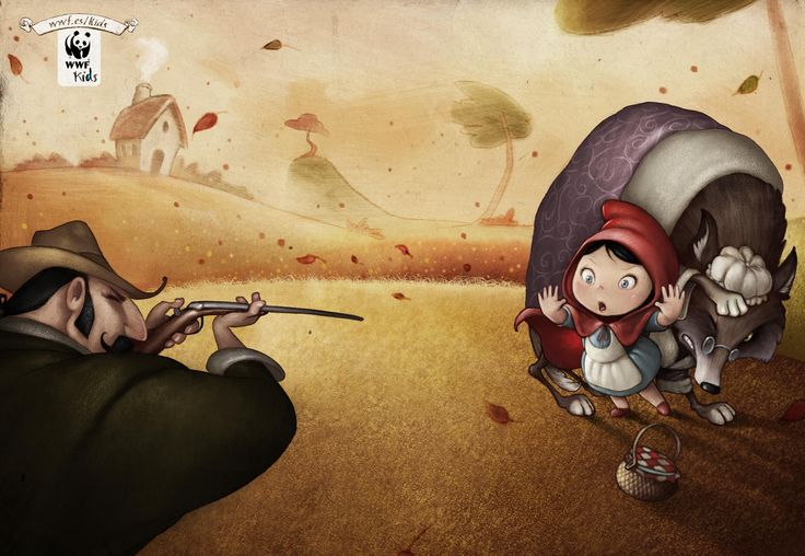 Wwf: Little Red Ridding Hood, Jack & The Beanstalk - Adeevee