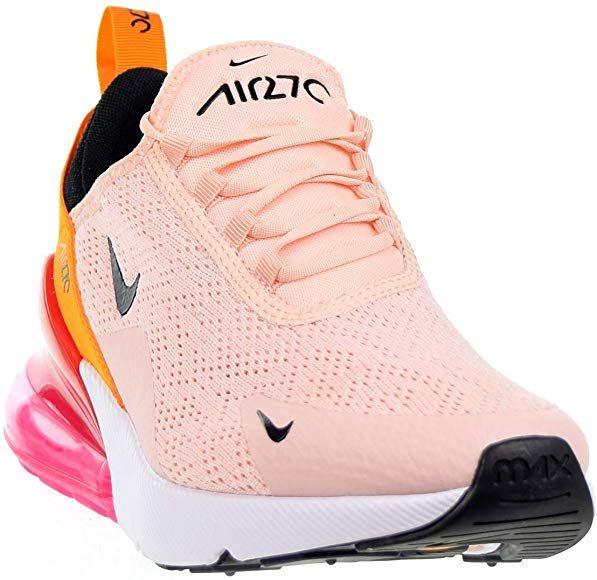 Terrible Señora cura  Amazon.com | Nike Air Max 270 Womens Shoes Washed Coral/Black ah6789-603  (10 M US) | Road Running | Air max, Nike air max, Nike