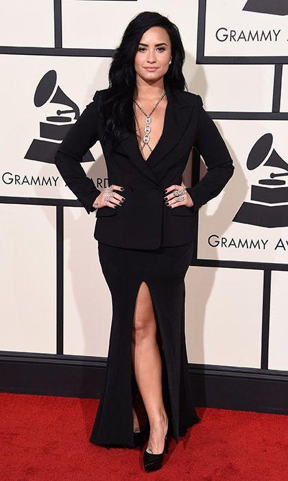 Demi Lovato wearing Norisol Ferrari