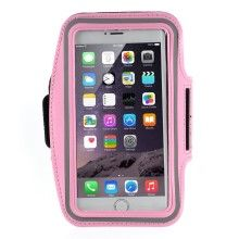 Running Sports Armband Case Pouch for iPhone 6 Plus / 6s Plus, Size: 160 x 85mm - Pink