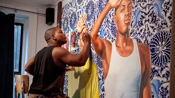 Watch: Kehinde Wiley: An Economy of Grace