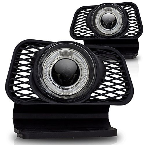 Premium 2pc Fog Lights Fit 02-06 Chevy Avalanche;03-07 Chevy Silverado Halo Projector Fog Lights - Clear Lens - Light bulb type H3 12V 55W. (1 Pair includes both Driver & Passenger Sides.) MaxMate http://www.amazon.com/dp/B00L842J56/ref=cm_sw_r_pi_dp_a3zVub02EK7FE