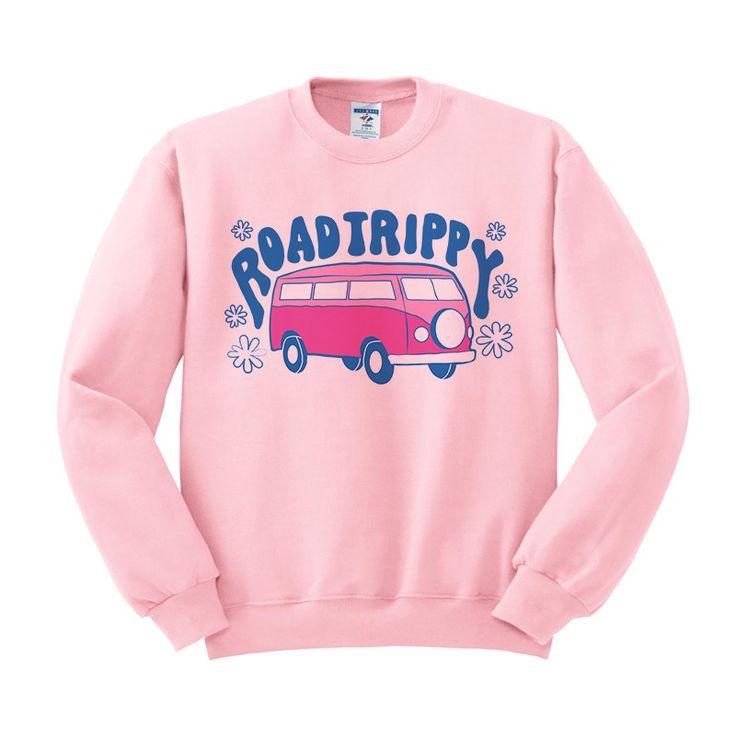 Road Trippy Crewneck Sweatshirt