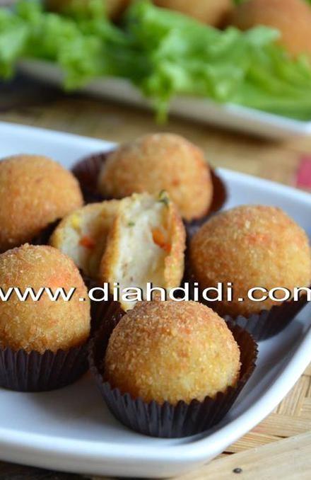 Diah Didis Kitchen Resep Bitterballen Lembyutttt Bitterballen Recipe Snack Recipes Savory Snacks