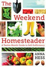 Useful DIY Home Projects.  THE WEEKEND HOMESTEADER  Click here to learn more or to add to your home library!
