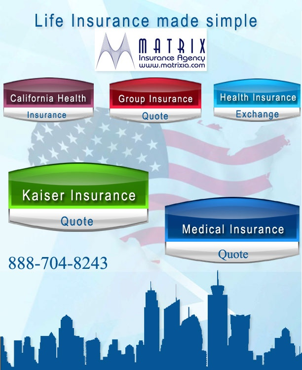 California Life Insurance | Maternity Insurance California  | Health Insurance California | California Dental Insurance | CA Health Insurance. matrixia.com