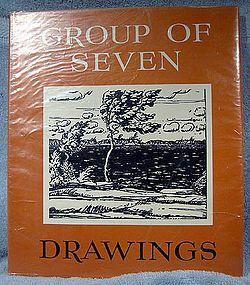 Paul Duval GROUP OF SEVEN DRAWINGS BOOK