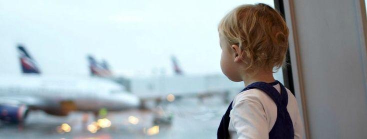 Viaggiare in aeroplano con bambini autistici