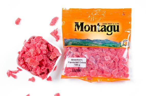 Strawberry Flavoured Cubes
