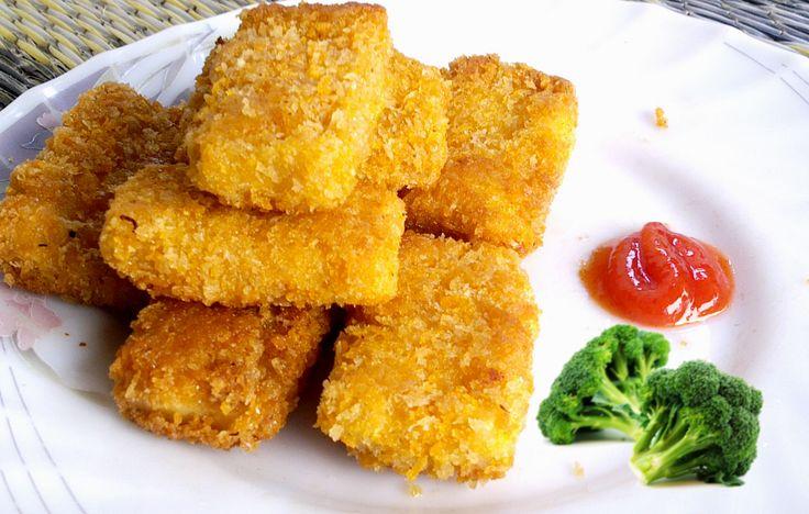 Resep Cara Membuat Nugget Ayam Keju Sehat Mudah http://dapursaja.blogspot.com/2014/05/resep-cara-membuat-nugget-ayam-keju.html