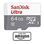 SanDisk 64 GB micro SD Memory Card for Fire Tablets and All-New Fire TV $15.99 #LavaHot http://www.lavahotdeals.com/us/cheap/sandisk-64-gb-micro-sd-memory-card-fire/177852?utm_source=pinterest&utm_medium=rss&utm_campaign=at_lavahotdealsus