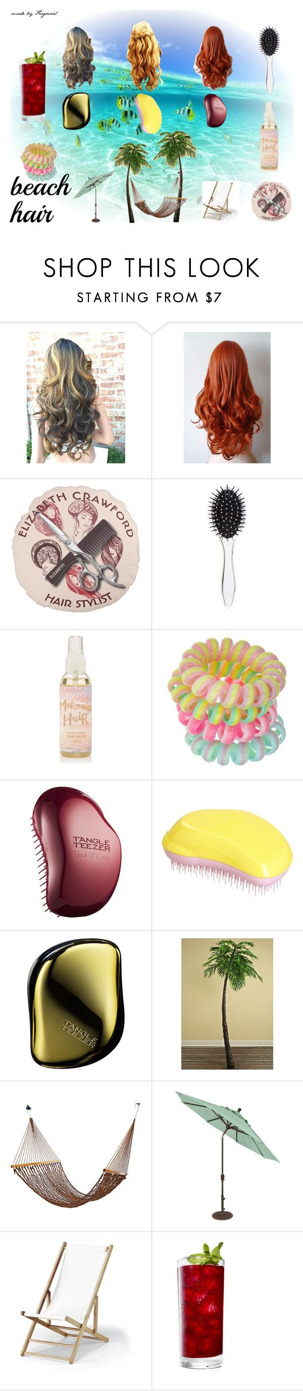 """Summer #6"" by forgoszel ❤ liked on Polyvore featuring beauty, New Look, Miss Selfridge, Tangle Teezer and Telescope Casual"