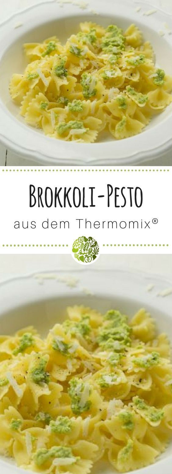 Farfalle with broccoli pesto from the Thermomix®   – Hauptgerichte aus dem Thermomix®