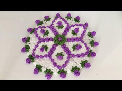 Tomurcuk Çiçekli Yuvarlak Lif Modeli Yapımı - YouTube