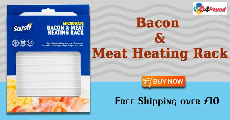 Order Microwave Bacon & Meat Heating Rack Only at #4pound