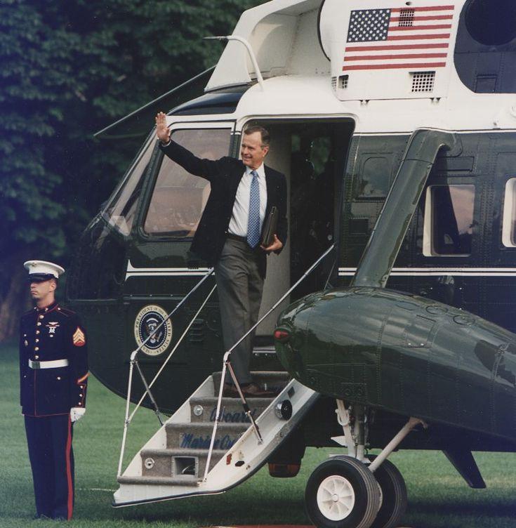 George Herbert Walker Bush, 41st President of the United States, was born on June 12, 1924.