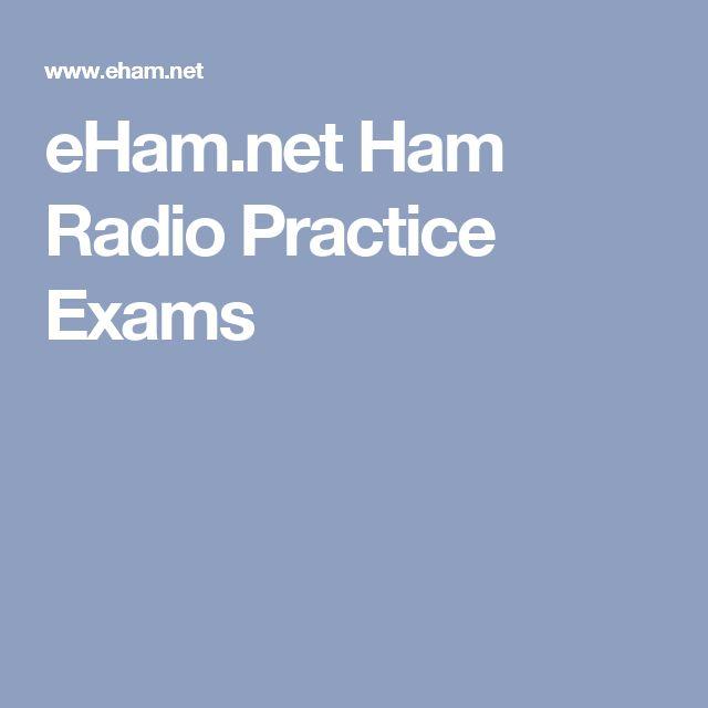eHam.net Ham Radio Practice Exams