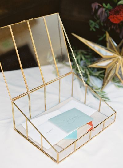15 Unique Card Holders: http://www.stylemepretty.com/2016/01/12/15-unique-card-holders-perfect-for-your-big-day/