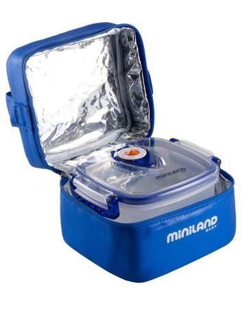 Miniland Baby с вакуумными контейнерами Pack-2-Go Hermifresh синяя  — 1980р.  Термосумка с вакуумными контейнерами Pack-2-Go Hermifresh синяя Miniland предназначена для разный видов пищи. Компактна, удобна в использовании и уходе.