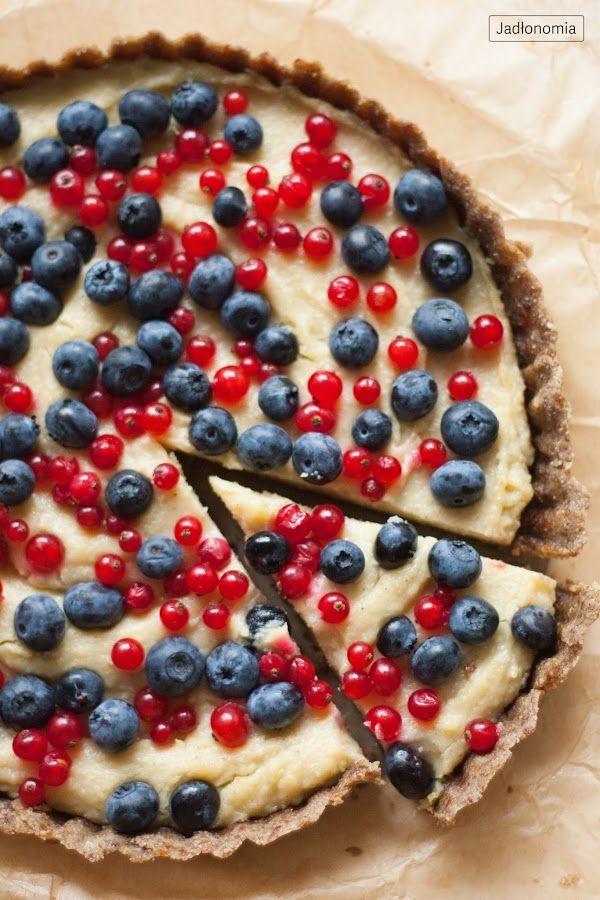jadłonomia • roślinne przepisy: Tarta z jaglanym kremem