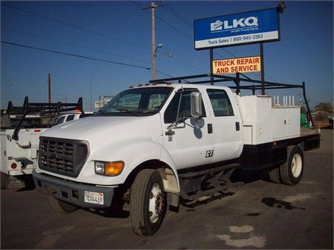 $15,000.00  2000 FORD F750 Heavy Duty Trucks - Flatbed Trucks For Sale At TruckPaper.com