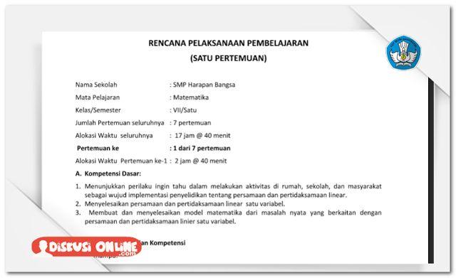 Berkas Guru Sekolah: RPP SMP Kurikulum 2013 Kelas 7 8 9 Lengkap Terbaru [Dokumen Pendidikan]