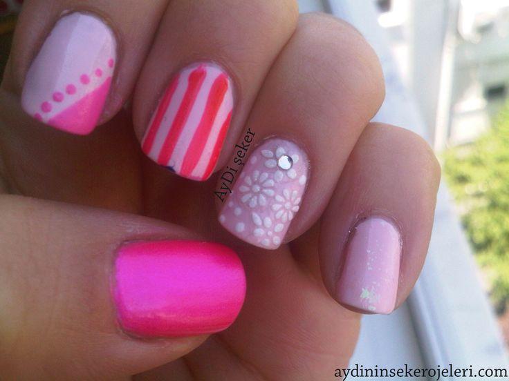 2014 Naildsigner | Nail Designer   Nail Art Nail Polish Pink Nails Cool  Nail Art Designs
