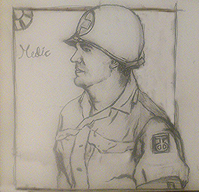 Combat medic.