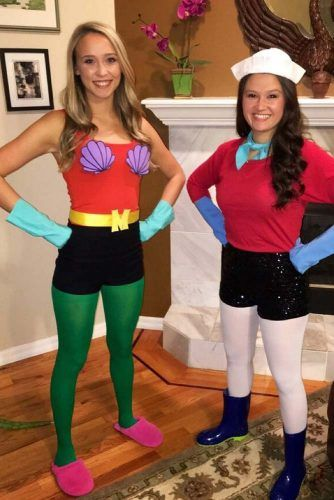 24 Creative Best Friend Halloween Costumes For 2019 -3122