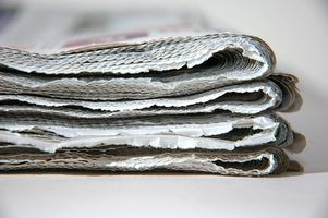 Shred newspapers to make cellulose insulation.