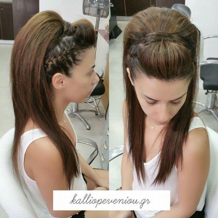 #hairstyle #hairdressing #hairsalon #kalliopeveniou #viphall