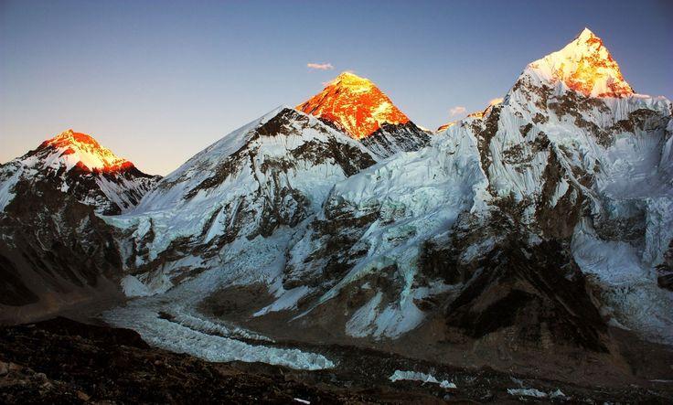 vista dal Kala Patthar Nepal