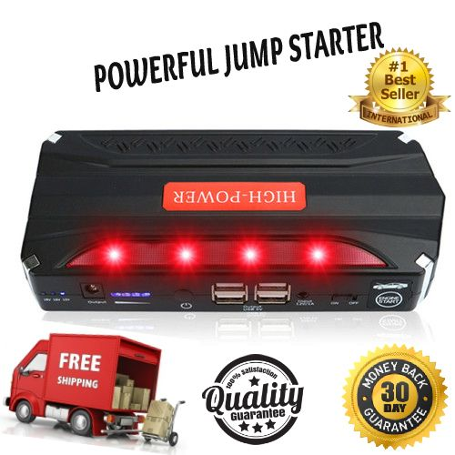 High Power Portable Battery Charger The Best Car Jump Starter  To see how it works go to my video https://youtu.be/M_ofKLjPVZc  With a sinking feeling in your stomach, you realize that you left your car lights on. At a hotel. Far away from home...