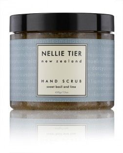 Such an awesome #gift idea! Nellie Tier Hand Scrub - Sweet Basil & Lime from Vanilla Bloom.