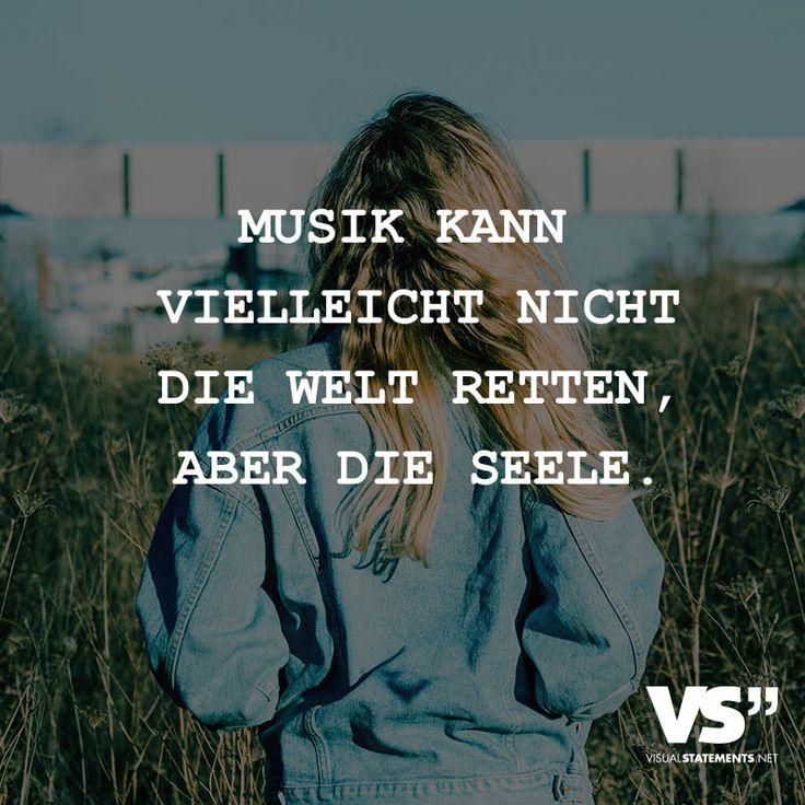 Musik kann vielleicht nicht die Welt retten, aber die Seele.