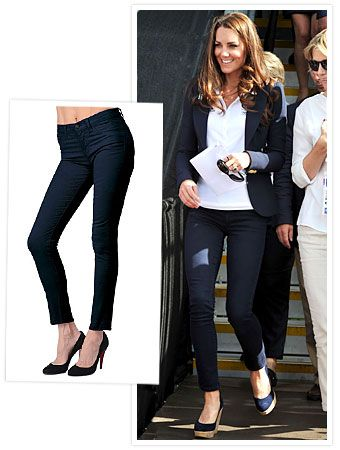 Found It! #KateMiddleton's J Brand Jeans http://news.instyle.com/2012/08/01/kate-middleton-skinny-j-brand-jeans-stuart-weitzman-wedge-shoes/#