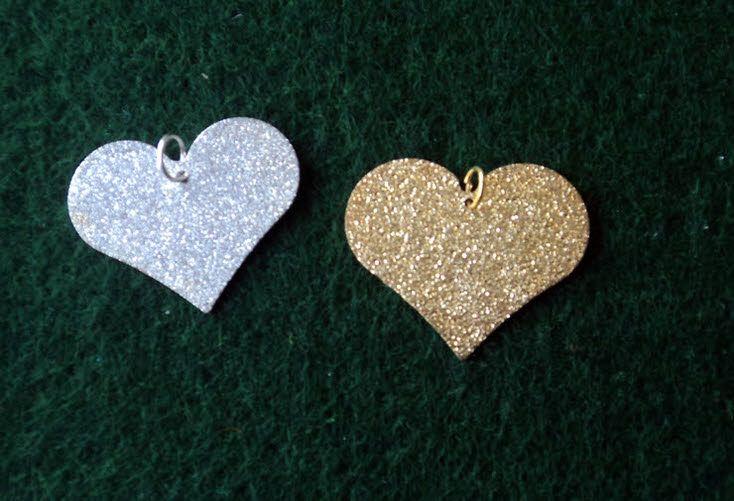 Μεταλλική καρδιά αμμοβολή για μπομπονιέρα γάμου
