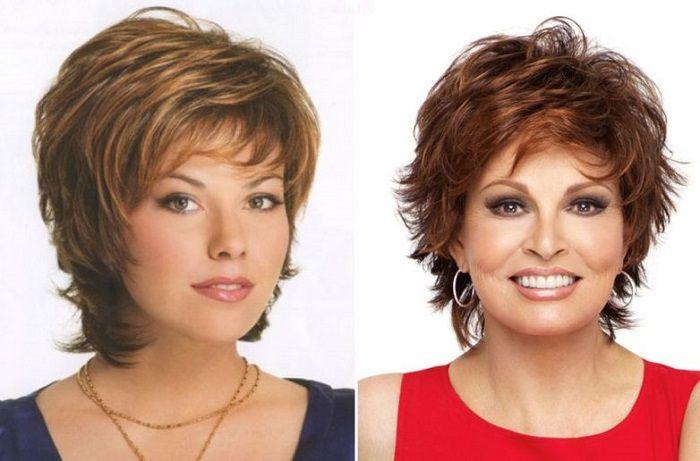 Vrstvený účes - první přikázání pro ženy s kulatým obličejem. Tyto účesy dokážou zvýraznit vaše oči, dodají vám příjemný výraz, uberou na věku a okouzlí! Nahlédněte na možnosti krátkých vlasů, které vypadají výborně i na šedé barvě vlasů.   Krátký, mírně rozcuchaný sestřih