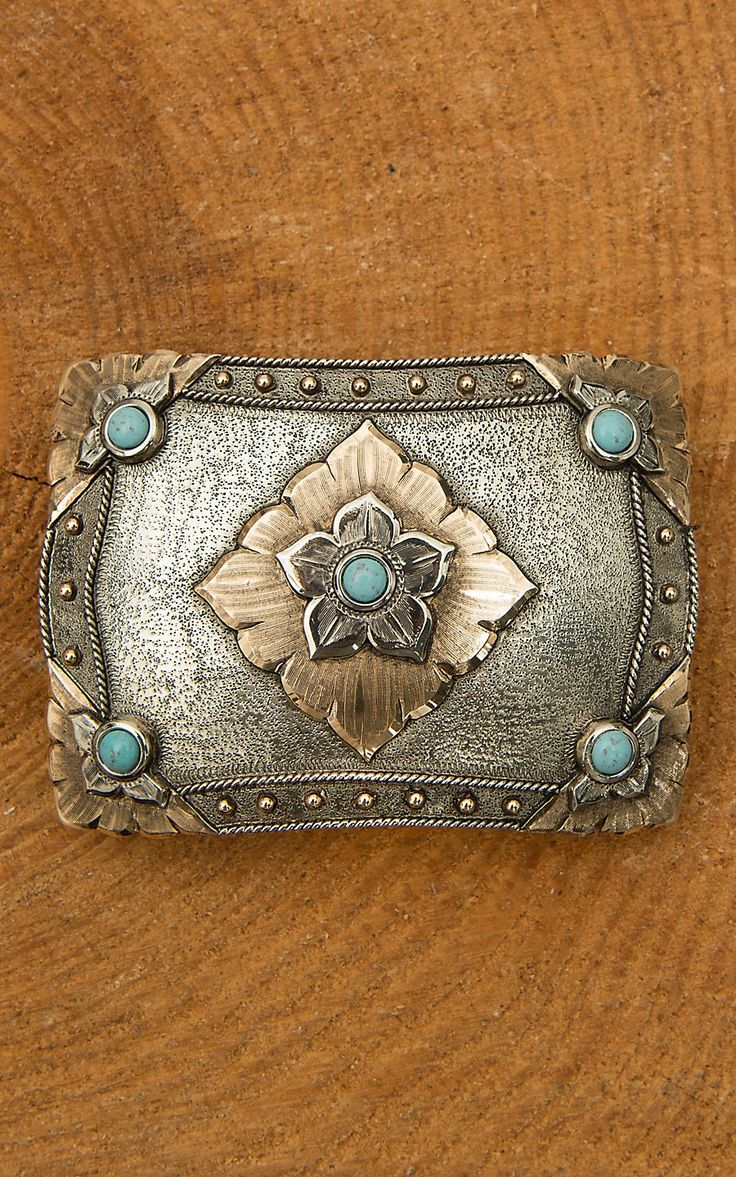 Need this turquoise belt buckle!