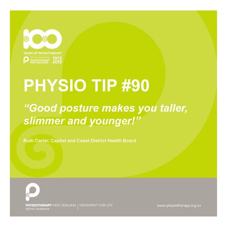 #physio tip. Good posture
