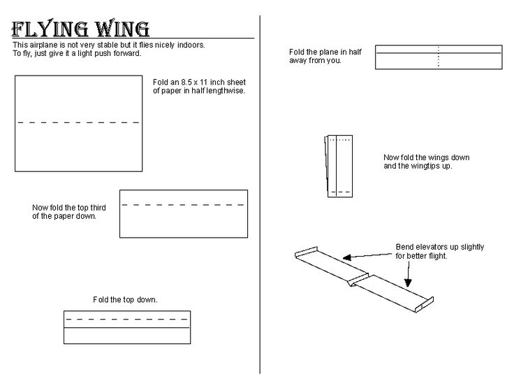 how to make paper planes that come back to you