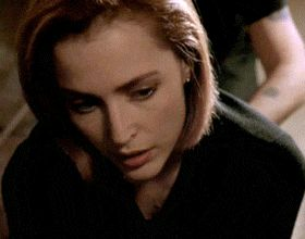 Scully, x files, getting a tattoo