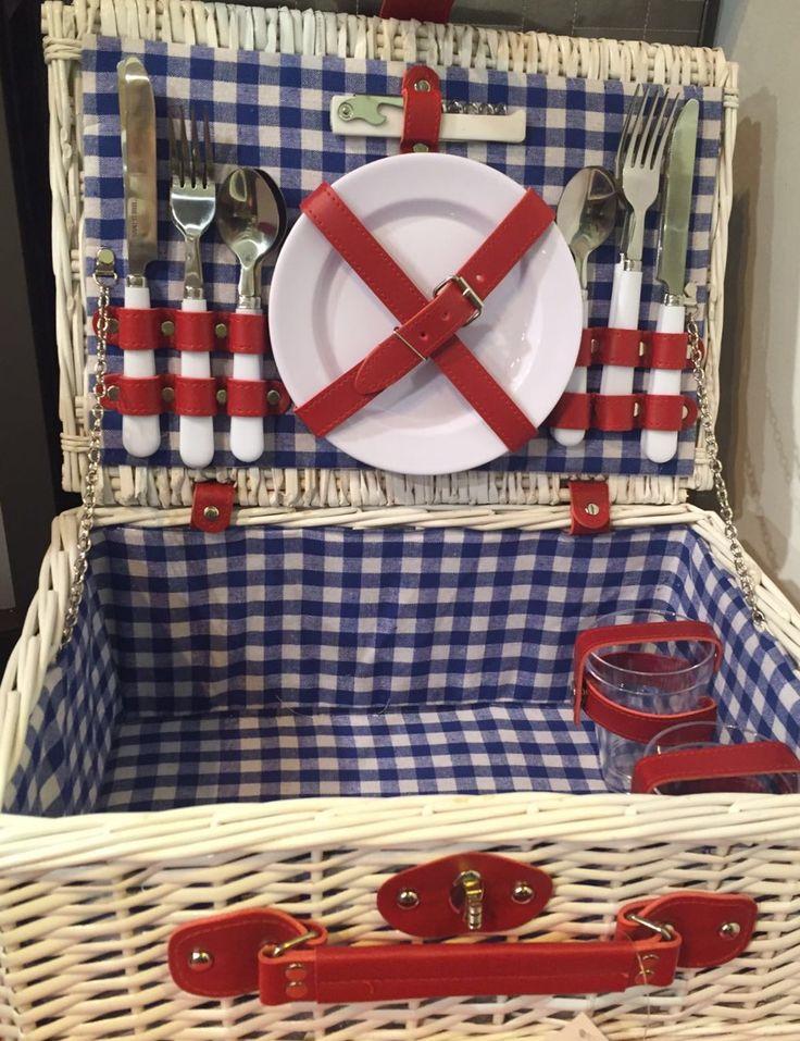 17 mejores im genes sobre cestas de picnic the welly home - Platos para picnic ...