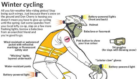 Tips For Riding Your Bike All Winter.. I likely won't do ALL winter, but as much as I can..