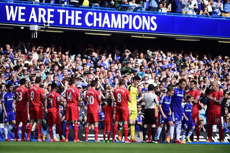 Chelsea Pinterest: #Chelsea Get The Guard Of Honor From #Liverpool