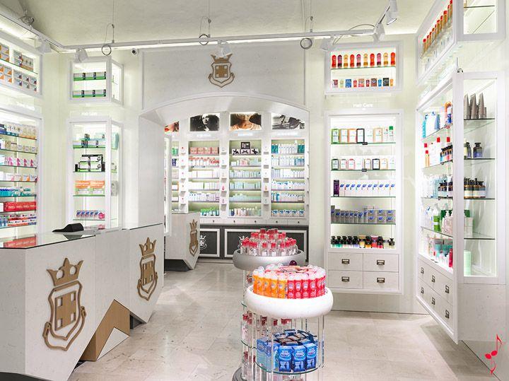 Pharmacy Design | Retail Design | Store Design | Pharmacy Shelving |  Pharmacy Furniture | PALAU